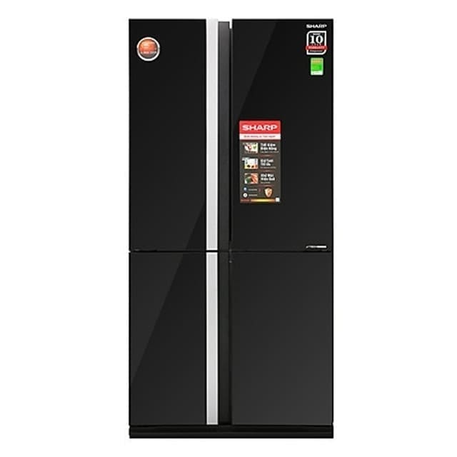 Tủ Lạnh Sharp Inverter SJ-FX688VG-BK