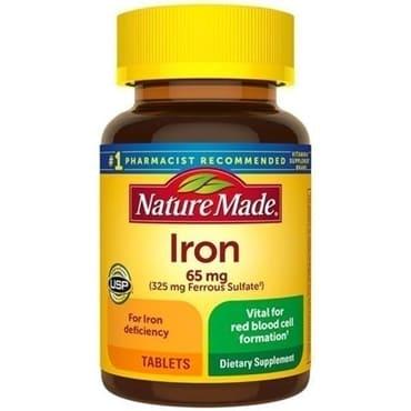Nature MadeViên Uống Sắt Iron