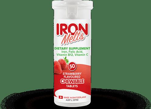 Iron MeltsViên Sắt Dạng Nhai