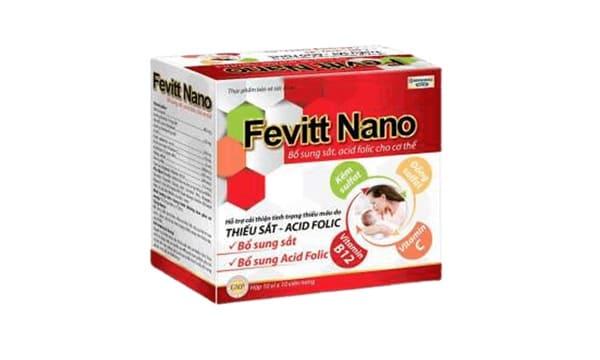HDPHARMAViên Sắt Fevitt Nano