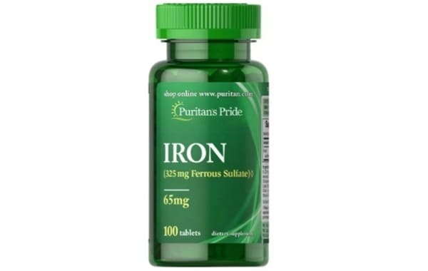 Puritan's PrideViên Uống Sắt Iron Ferrous Sulfate