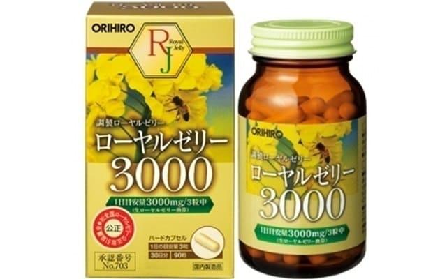 OrihiroViên Uống Sữa Ong Chúa Royal Jelly Orihiro