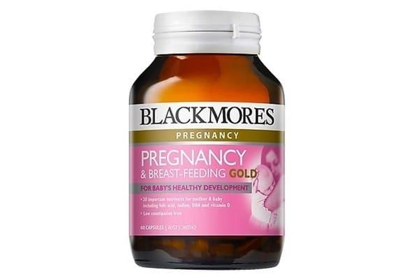Viên Uống Vitamin Tổng Hợp Pregnancy & Breast-Feeding Gold