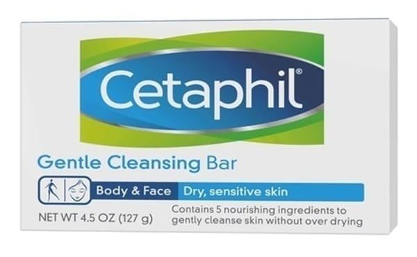 Cetaphil Xà Phòng Rửa Mặt Genltle Cleansing Bar
