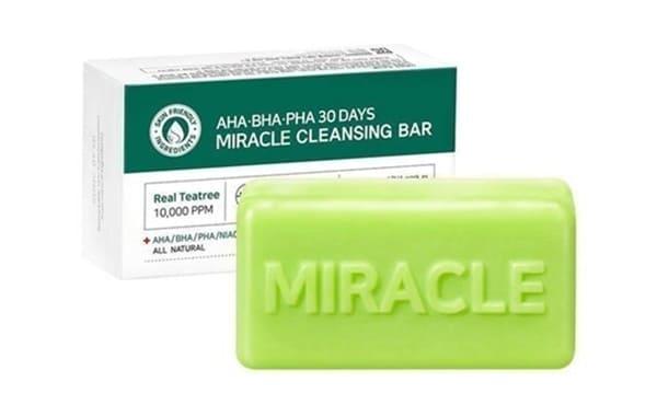 Some By Mi Xà Phòng Rửa Mặt AHA- BHA- PHA 30 Days Miracle Cleansing Bar