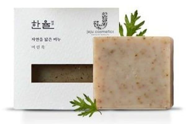 Amorepacific Xà Phòng Rửa Mặt Natural Oil Soap Hanyul