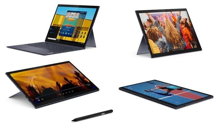 Bàn phím có thể tháo rời biến laptop trở thành tablet
