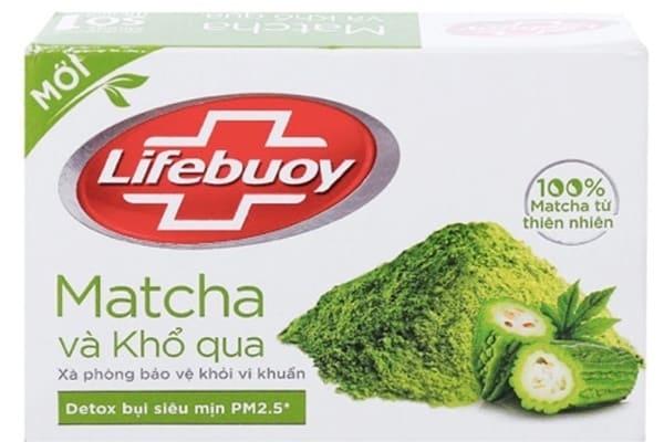 Unilever Xà Phòng Lifebuoy Matcha và Khổ Qua