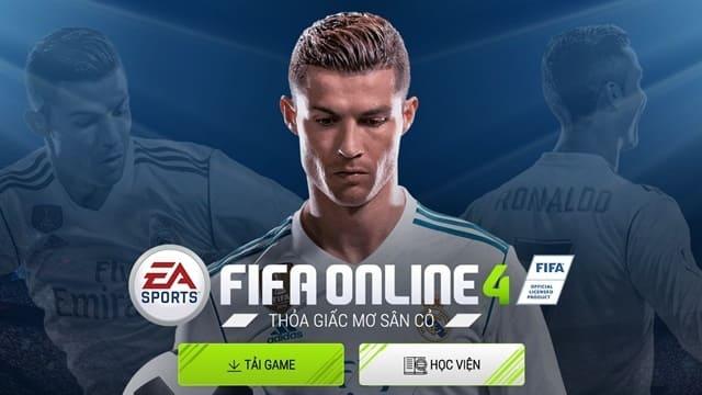 Game bóng đá Fifa Online 4