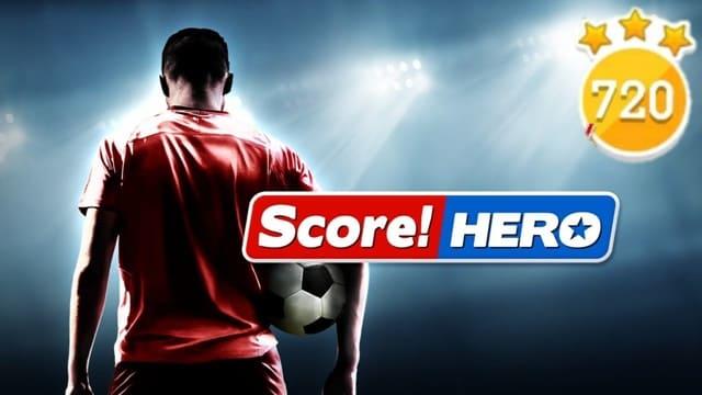 Game đá bóng Score! Hero