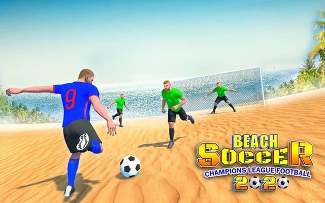Game đá bóng Beach Soccer