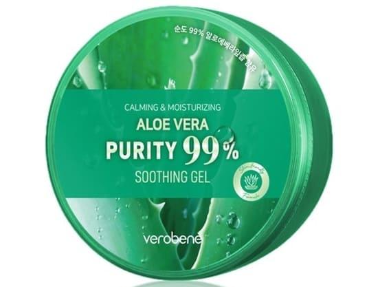 VerobeneCalming and Moisturizing Aloe Vera Pure 99% Soothing Gel
