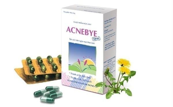 Dược phẩm Hoa Linh Viên Uống Trị Mụn Trứng Cá ACNEBYE NEW