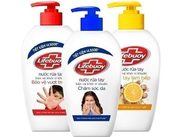 Unilever Nước Rửa Lifebuoy