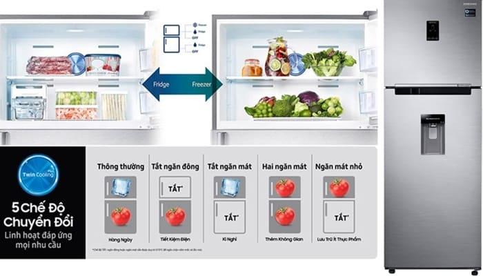 Thiết kế lấy nước lọc từ bên ngoài mà không cần mở cửa giúp đơn giản hóa mọi thao tác sử dụng trên tủ lạnh