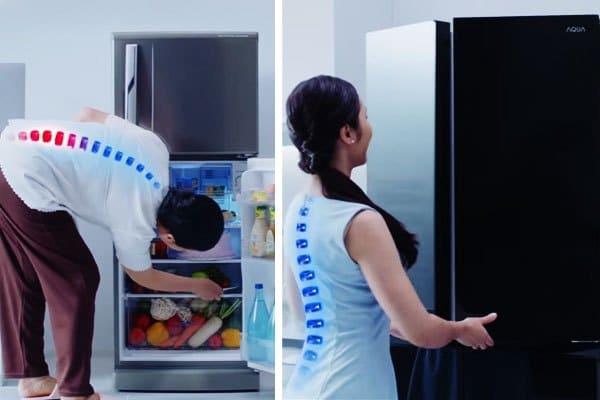 Thiết kế nhân bản giúp bảo vệ tối ưu cột sống của người tiêu dùng