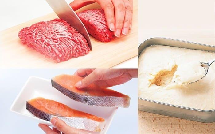 Cấp đông mềm sẽ giúp thực phẩm bảo quản được lâu và không bị mất dưỡng chất