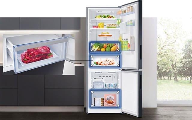 Tủ lạnh Samsung 307 lít RB30N4170S8 có công nghệ cấp đông mềm