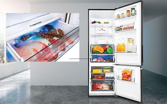 Tủ lạnh Electrolux Inverter 503 lít ETB5400B-H có công nghệ cấp đông mềm