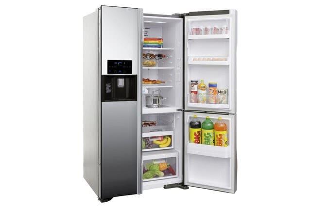 Tủ lạnh 3 cửa SBS Hitachi Inverter R-FM800GPGV2X (MIR) - 584 lít