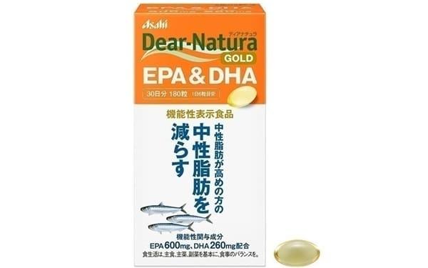 Asahi Dear-Natura Gold EPA & DHA 180 Viên