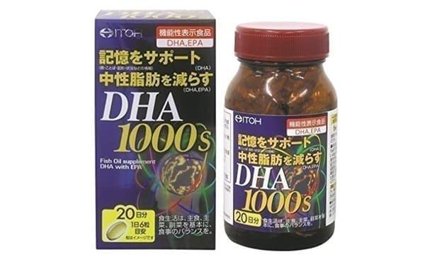 ITOH DHA 1000S 120 Viên