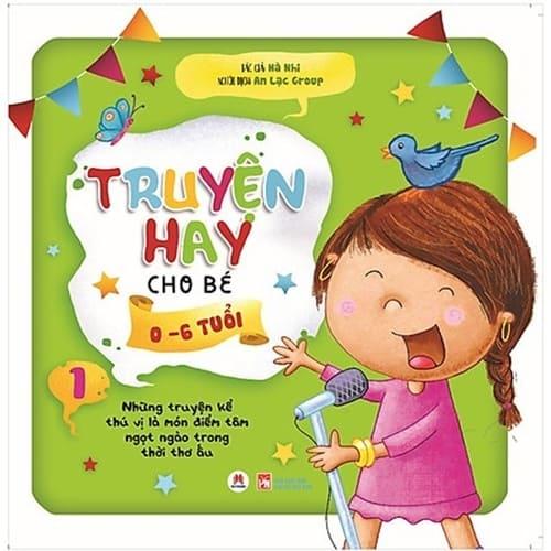 Sách Tranh Ehon Truyện Hay Cho Bé 0-6 Tuổi (Tập 1)