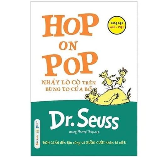 Hop On Pop – Nhảy Lò Cò Trên Bụng To Của Bố