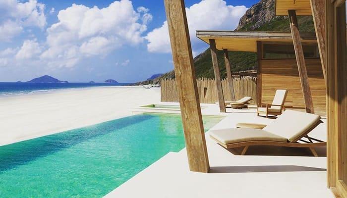 Khu nghỉ dưỡng Six senses Côn Đảo view biển