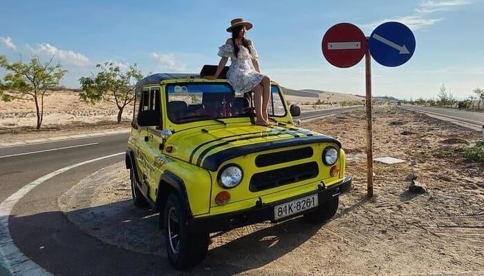 Thuê xe jeep tại Mũi Né