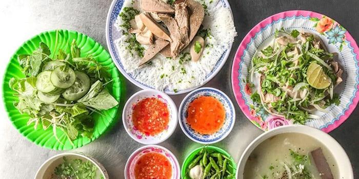 Các món ăn trưa, ăn tối ngon ở Quy Nhơn