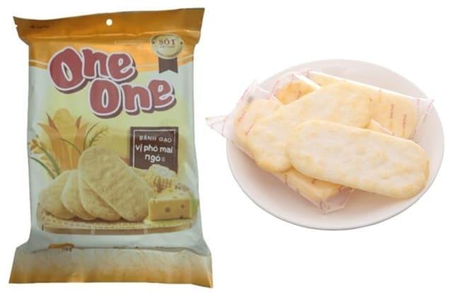 One One - Bánh Gạo Phô Mai Ngô