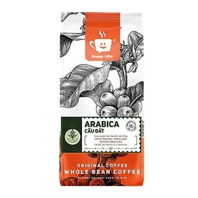 Message Coffee - Cà Phê Rang Xay Arabica Cầu Đất