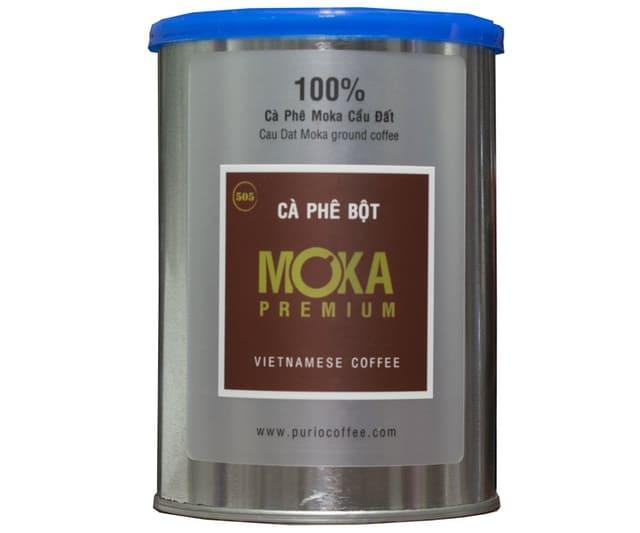 Purio Coffee - Cà Phê Rang Xay Moka Premium