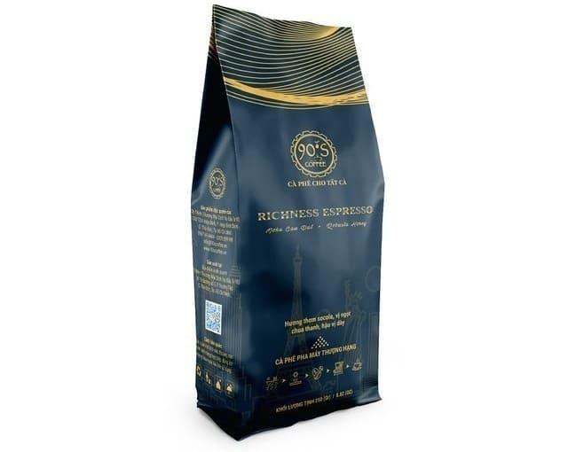 90 S COFFEE - Cà Phê Rang Xay Richness Espresso