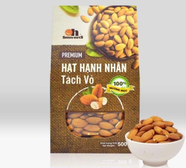 Trading Perfect Partner - Hạnh Nhân Rang Smile Nuts