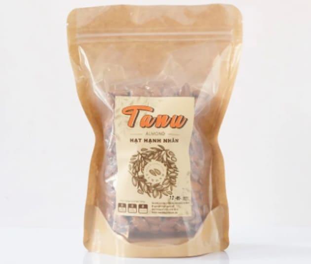 Tanu Nuts - Hạnh Nhân Rang