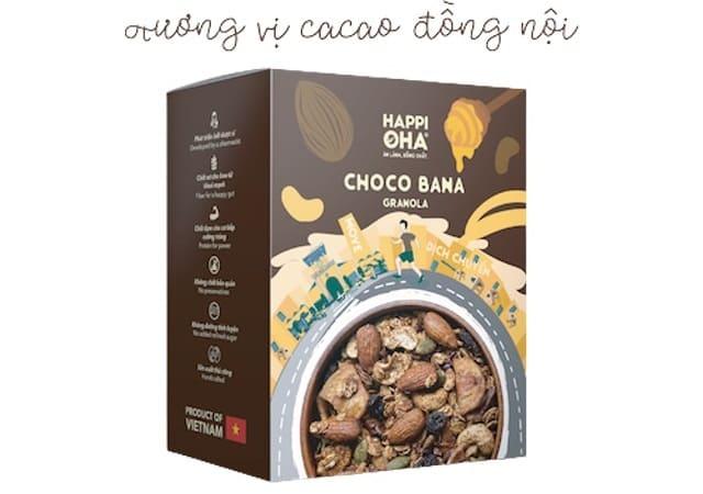 HAPPI OHA - Granola Choco Bana