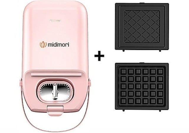 Midimori Máy Nướng Bánh Mì Sandwich MDMR-1366