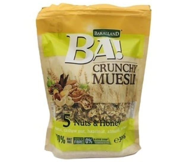 Bakalland - Ngũ Cốc Muesli 5 Nuts & Honey