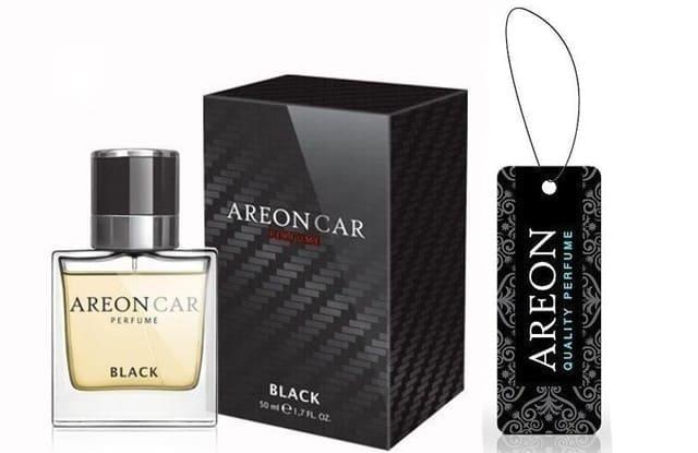 Aeron - Nước Hoa Ô Tô Black Perfume