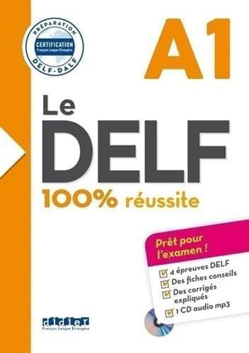 Hachette Livre Le DELF - 100% Réussite - A1