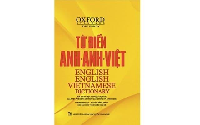 """""""Từ Điển Oxford Anh – Anh – Việt (Bìa Vàng)"""" (MCBooks, 2013)"""