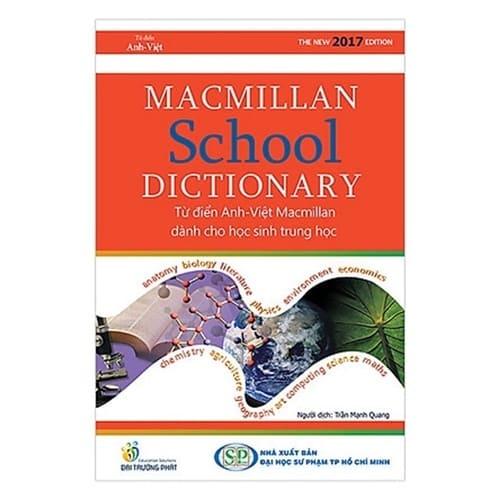 Macmillan School Dictionary - Từ Điển Anh-Việt Macmillan Dành Cho Học Sinh