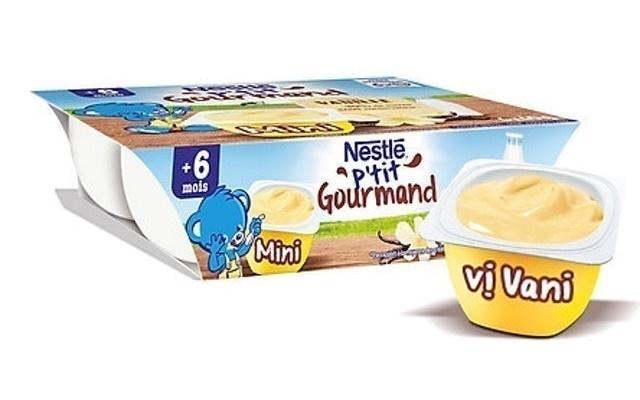 Nestlé - Váng Sữa P'tit Gourmand
