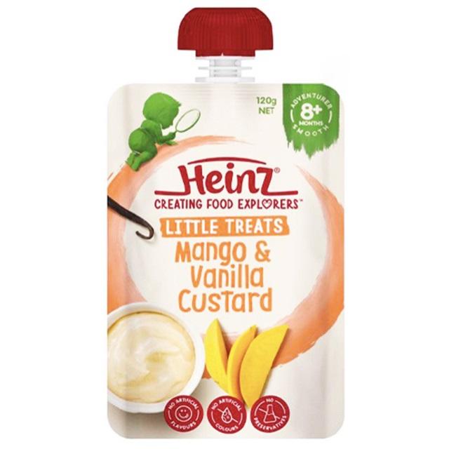 Heinz - Váng Sữa Custard Mango & Vanilla