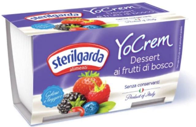 STERILGARDA - Váng Sữa Yocrem Wild Berries