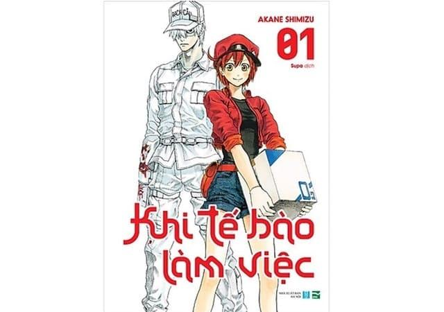 Akane Shimizu - Khi Tế Bào Làm Việc