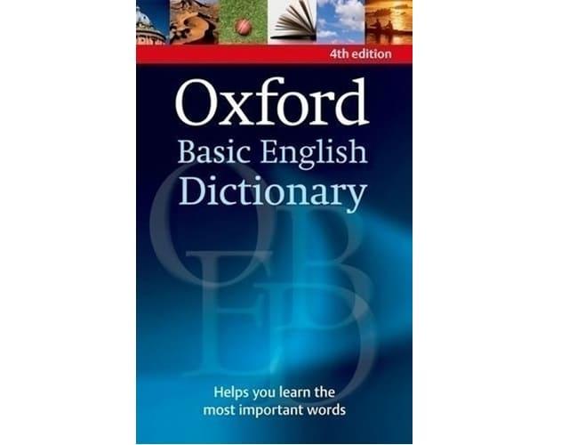 Oxford Basic English Dictionary 4th Edition