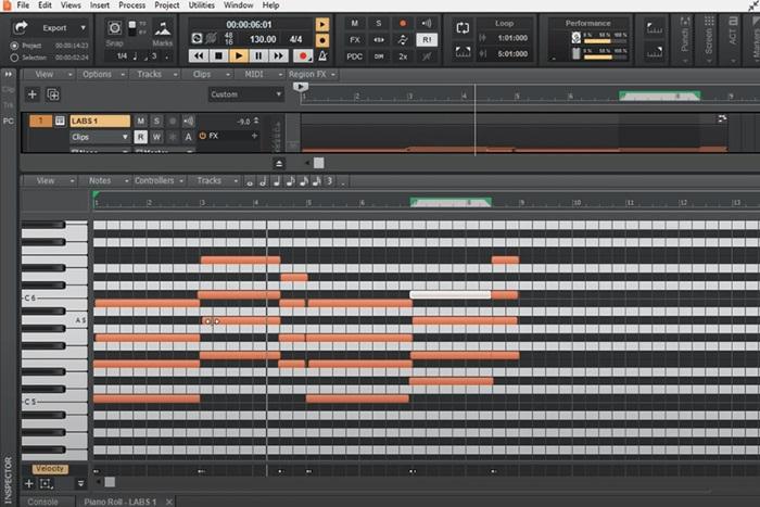 Phần mềm tạo nhạc điện tử CakeWalk